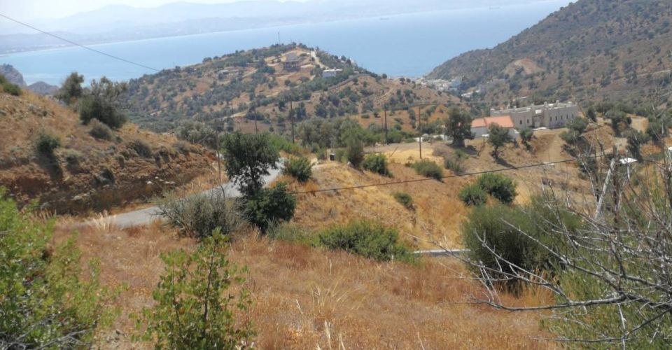 LAND PLOT 3000 m² FOR SALE IN AGIA GALINI (AG. GEORGIOS)