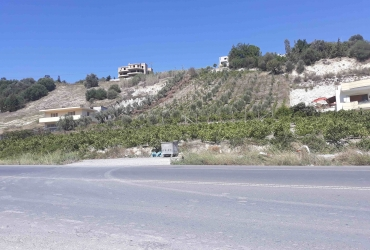 LAND PLOT FOR SALE ON THE HIGHWAY HERAKLION - MIRES