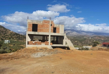 UNFINISHED BUILDING 340 m² FOR SALE IN AGIA GALINI