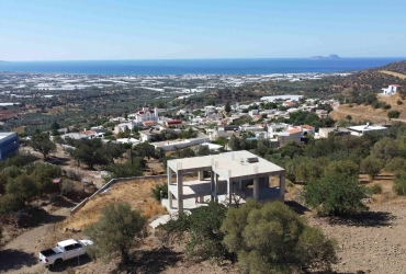 UNFINISHED HOUSE 172 m² FOR SALE IN KLIMA
