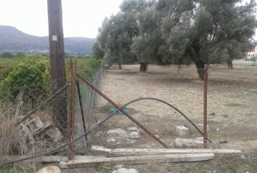 LAND PLOT 2400 m² FOR SALE IN MIRES ZONED